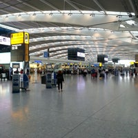 Photo taken at London Heathrow Airport (LHR) by Mark B. on 7/29/2013