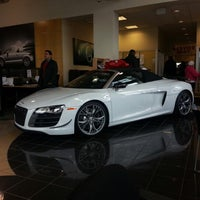 Photo taken at Audi of Alexandria by Dan on 12/27/2012