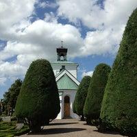 Photo taken at Gislövs kyrka by Susanne N. on 7/11/2013