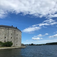 Photo taken at Ångbåtsbryggan Vaxholm by Susanne N. on 7/21/2017