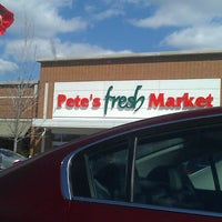 Photo taken at Pete's Fresh Market by Rebecca C. on 4/1/2013