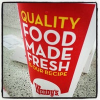 Photo taken at Wendy's by William C. on 1/28/2013