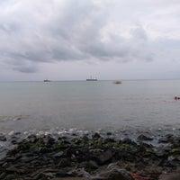 Photo taken at Pantai Kelapa Tujuh by Hilmi M. on 12/25/2016