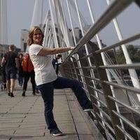 Photo taken at London Bridge City Pier by Bobbi H. on 9/26/2017