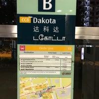 Photo taken at Dakota MRT Station (CC8) by JD 嚴. on 5/31/2016
