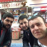 Photo taken at Sökeliler Kuruyemiş by Şenol G. on 10/24/2014