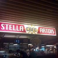 Photo taken at Stella Artois Café by Marc M. on 8/17/2013