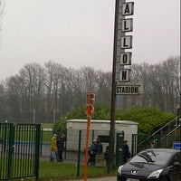 Photo taken at Stade Fallonstadion by Marc M. on 1/6/2013