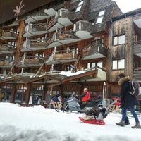 Photo taken at Avoriaz by Walfroy S. on 3/9/2013