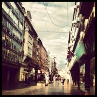 Photo taken at Knez Mihailova by Nenad V. on 11/15/2012