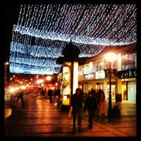 Photo taken at Knez Mihailova by Nenad V. on 12/17/2012
