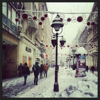 Photo taken at Knez Mihailova by Nenad V. on 12/11/2012