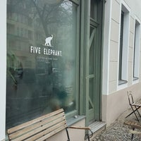 Photo taken at Five Elephant by Kjeld H. on 2/4/2017