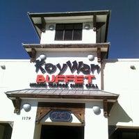 Photo taken at KoyWan Hibachi Buffet by Kim B. on 2/2/2013