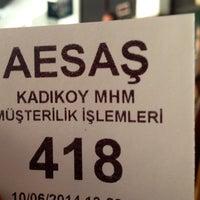 Photo taken at Ayedaş by Oğuz D. on 6/10/2014