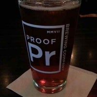 Photo taken at Proof Brewing Company by Victor C. on 7/11/2013