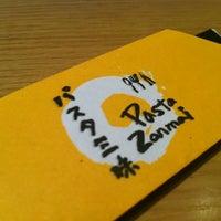 Photo taken at Pasta Zanmai by Ling C. on 12/9/2012
