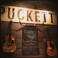 Photo taken at Puckett's Grocery & Restaurant by Lena W. on 4/7/2013