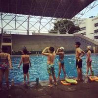 Photo taken at สระว่ายน้ำ การกีฬาแห่งประเทศไทย by Navik N. on 8/10/2016