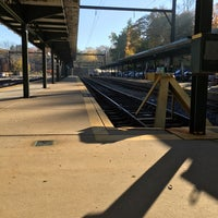 Photo taken at SEPTA Chestnut Hill East Station by Carl L. on 11/3/2015