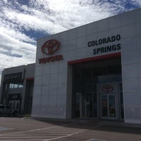 Photo taken at Larry H. Miller Toyota Colorado Springs by Stacey~Marie on 8/20/2014