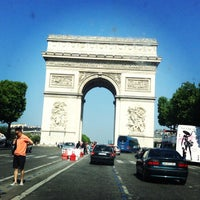 Photo taken at Avenue des Champs-Élysées by Serhat P. on 7/7/2013