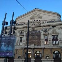 Photo taken at Teatro Arriaga by moreno e. on 3/3/2013