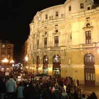 Photo taken at Teatro Arriaga by moreno e. on 2/23/2013