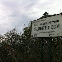 Photo taken at Giardini Gilberto Govi by Vladimir L. on 4/25/2013