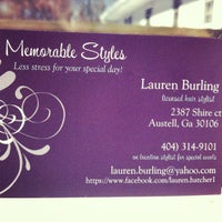 Photo taken at Memorable Styles by Lauren B. on 3/19/2014