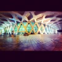 Photo taken at Marrakech Menara Airport (RAK) by Yusef F. on 9/19/2012
