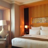 Photo taken at Le Royal Méridien Shanghai | 上海世茂皇家艾美酒店 by Xiao Z. on 7/16/2013