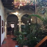 Photo taken at Hotel Casa del Curato Cartagena de Indias by Rodrigo Z. on 1/16/2016