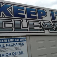 Photo taken at Keep It Clean Car Wash by Peter S. on 4/21/2013