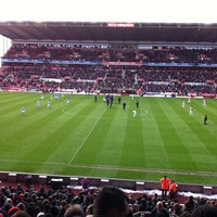 Photo taken at Bet365 Stadium by Killian R. on 1/26/2013