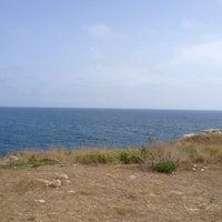 Photo taken at Punta Ristola by Mauro D. on 8/21/2014