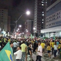 Photo taken at Avenida Dom Luís by Mário Cezar S. on 3/17/2016