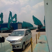 Photo taken at PT. Daya Kobelco Construction Machinery Ind. by Harry D. on 9/22/2013