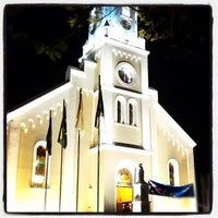 Photo taken at Catedral De São José Dos Pinhais by Ricardo Y. on 9/21/2012