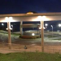 Photo taken at Anfiteatro da Ponta Negra by Thatiana L. on 2/26/2013
