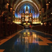 Photo taken at Notre-Dame Basilica of Montréal by Bruno B. on 11/4/2012