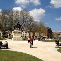 Photo taken at Queen Square by Stephen S. on 5/2/2013