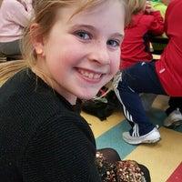 Photo taken at Derynoski School by Jennifer B. on 1/20/2016