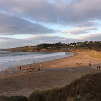 Photo taken at Daymer Bay by Olly S. on 12/26/2016
