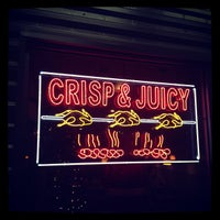 Photo taken at Crisp & Juicy Chicken by Olly S. on 12/4/2012
