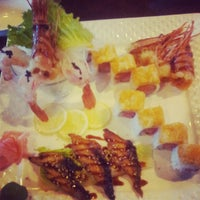 Photo taken at Okinawa- Sushi & Hibachi Steak House by Wiles S. on 9/22/2012
