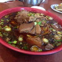 Photo taken at Lao Shan Dong Homemade Noodle House by Stanford on 7/31/2015