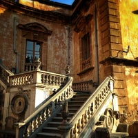 Photo taken at Villa Palagonia by Keshav L. on 7/18/2013