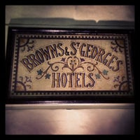 Photo taken at Brown's Hotel by Keshav L. on 12/26/2012