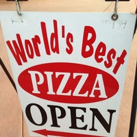 Photo taken at Worlds Best Pizza by Hung P. on 7/10/2013